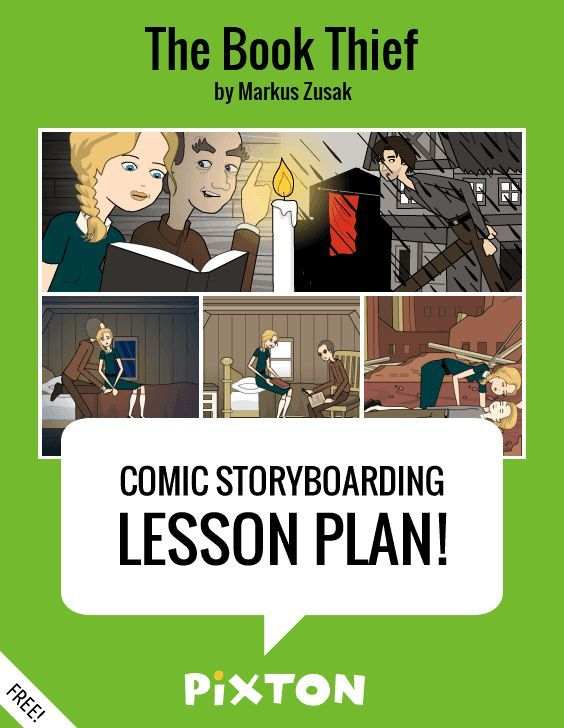 Your students will love writing about THE ELEMENTS OF A NOVEL with Pixton comics and storyboards! This FREE lesson plan features a Teacher Guide and themed props. PLUS 5 awesome activities with interactive rubrics, student examples and printable handouts.