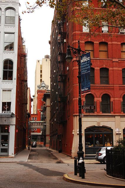 NEW YORK CITY manhattan NEW YORK NY Building buildings street streets meat packing district dog bicycle staple street | Flickr - Photo Sharing!