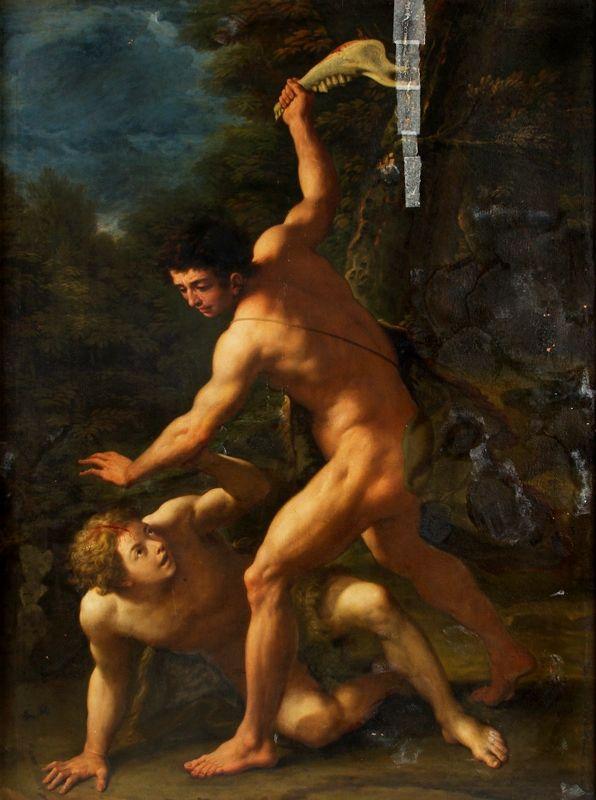 The Athenaeum - Cain Slaying Abel (Luca Giordano - )