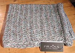 Sparkle N' Shine Knit Loop in Aqua Marine by Fraas at Dream Weaver. www.dreamweavergifts.ca