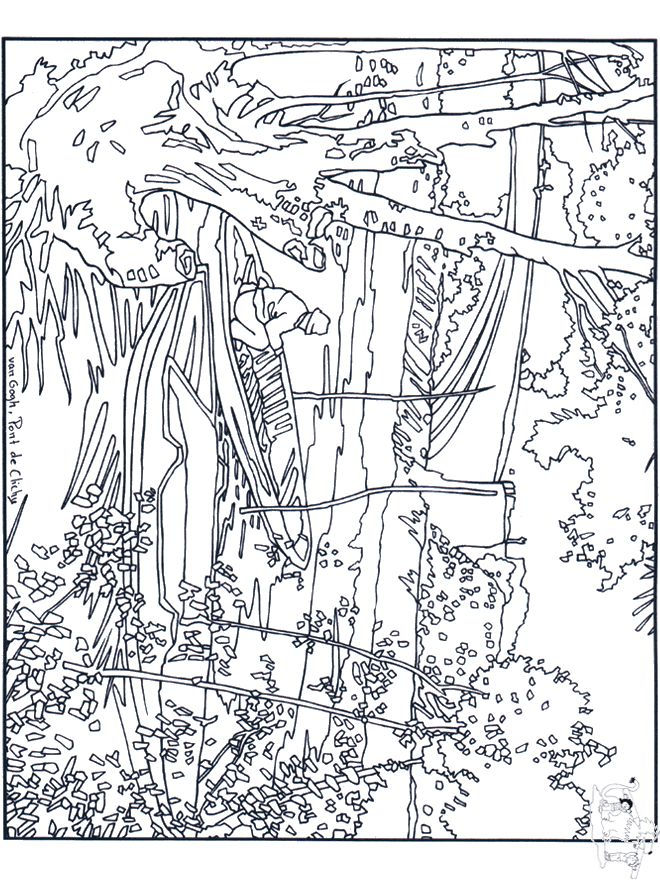 van gogh coloring pages all sorts of art coloring pages painter van gogh