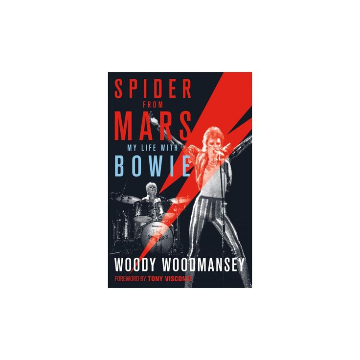 Spider from Mars : My Life With Bowie (Reprint) (Paperback) (Woody Woodmansey)