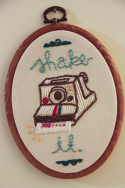 ♒ Enchanting Embroidery ♒ embroidered camera