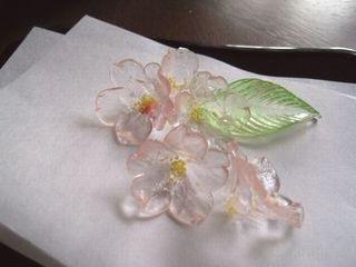 桜の有平糖