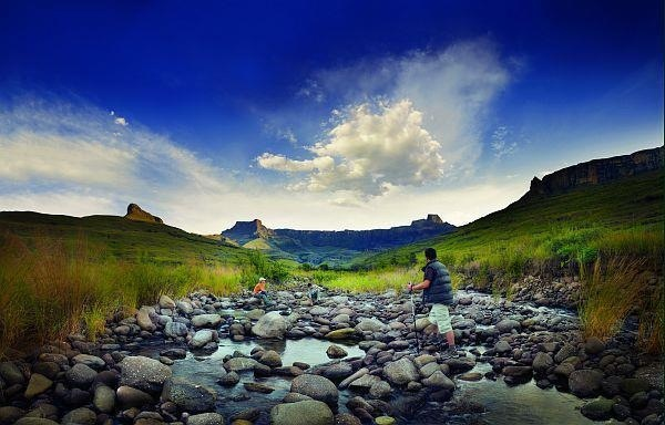 Hiking in South Africa - it doesn't get much better than this.