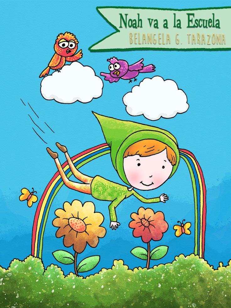 cuenta la historia de Noah y la transición del jardín de infancia a la escuela.