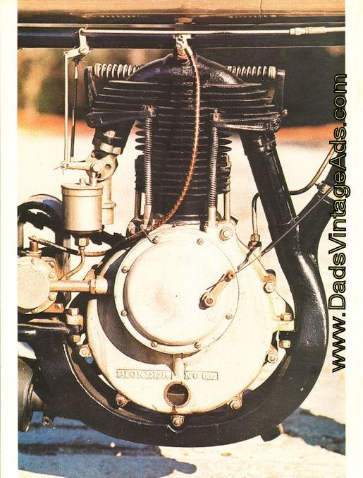 1909 Royal Pioneer Antique Motorcycle