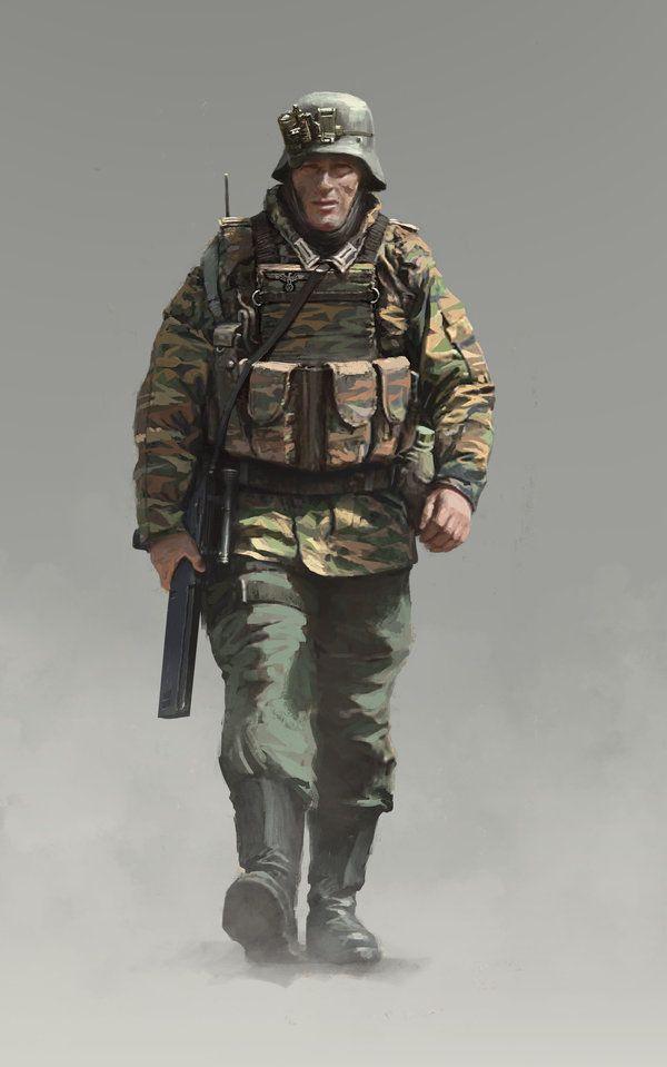Ein Panzergrenadier der Wehrmacht. by someone1fy on DeviantArt