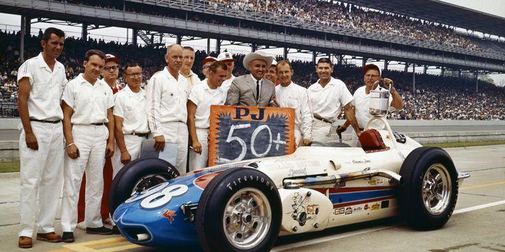 Parnelli Jones Car and Crew