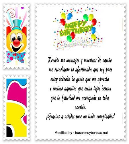 mensajes de texto de agradecimiento de cumpleaños,palabras de agradecimiento de cumpleaños: http://www.frasesmuybonitas.net/agradecimiento-por-saludos-de-cumpleanos/