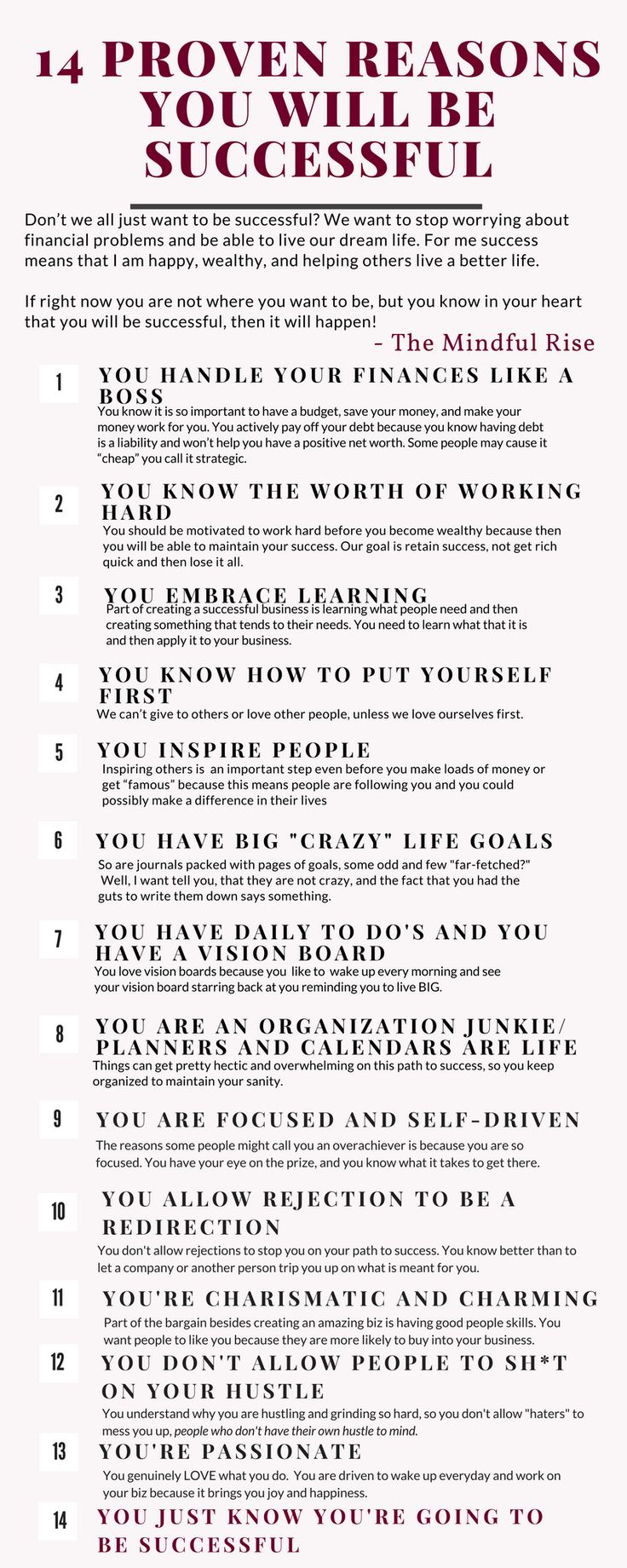 Tips on success   have a successful business   girl boss tips
