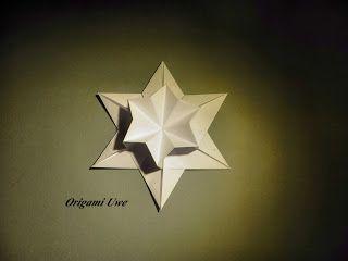 Origami, Fleurogami und Sterne: Frimmeleien mit einem Sechseck Teil 1
