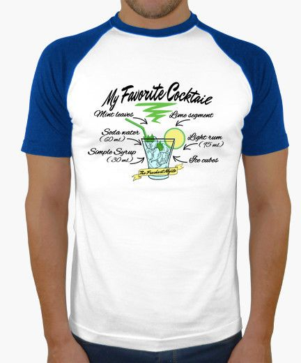 T-shirt My Favorite Cocktail - Mojito