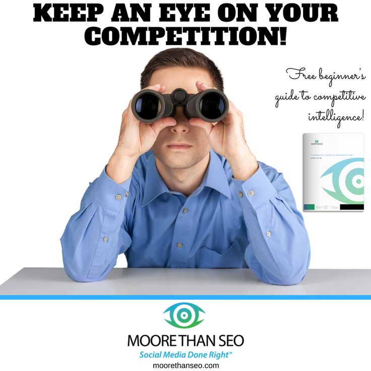 Tip #16 of our New Year's Countdown: Always keep an eye on your competition—Don't slack over the holidays. Whether you are new to competitive intelligence strategies, or you need a refresher, check out our guide: http://www.moorethanseo.com/integrated-marketing/the-beginners-guide-to-competitive-intelligence/