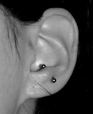This was by far my favorite piercing. I'm thinking of getting it again.