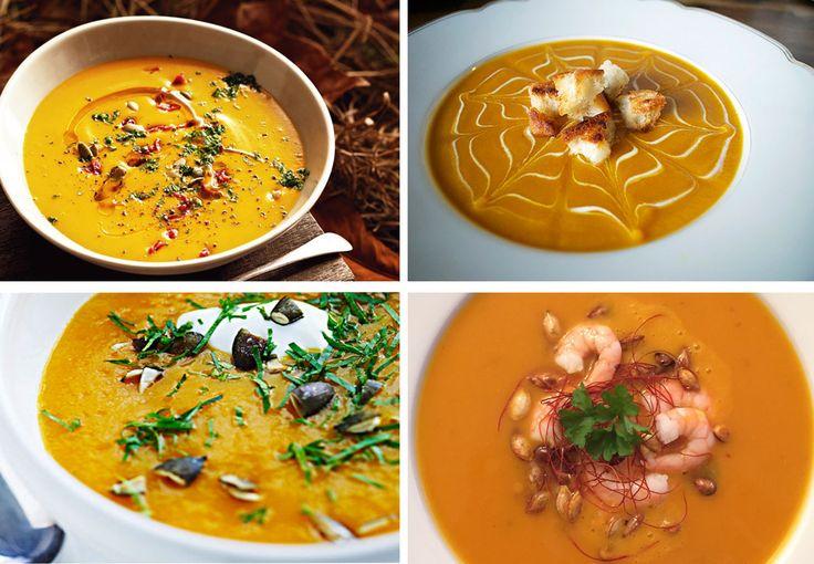 Det er blevet køligere udenfor og græskar-sæsonen er over os. Her får du vores absolutte favorit-opskrift på den spicy halloween-suppe og de lækreste forslag til topping.
