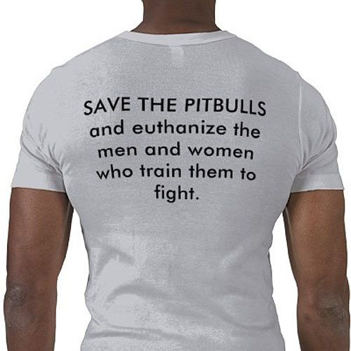Save the Pitties, and all the other animals involved in animal fighting (bait dogs and cats, etc.)