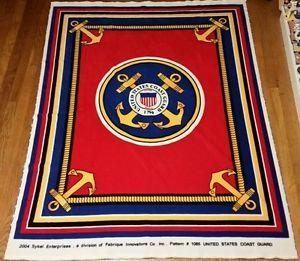 United-States-Coast-Guard-Fleece-Fabric-50x64-50-x-64-Pattern-1065-Blanket