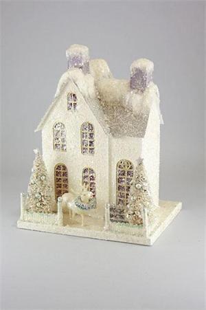 putz house: Putz Glitter, Christmas Village, Glitter Houses, Glitterhouses, Glitter Putz, Putz Houses, Christmas Houses, Paper Houses