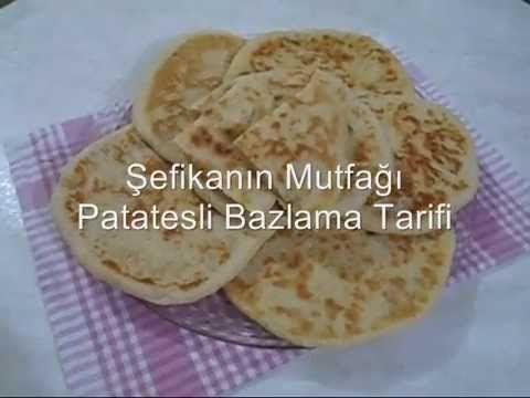 Patatesli Bazlama Tarifi Akşamki #iftar ve #sahur yemeğimdi yanınada #çay ohhh daha ne olsun :) #BazlamaTarifi'min videosu #afiyetolsun #bazlama #hamurişi