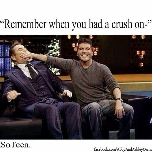 Lol. Simon Cowell...:-P