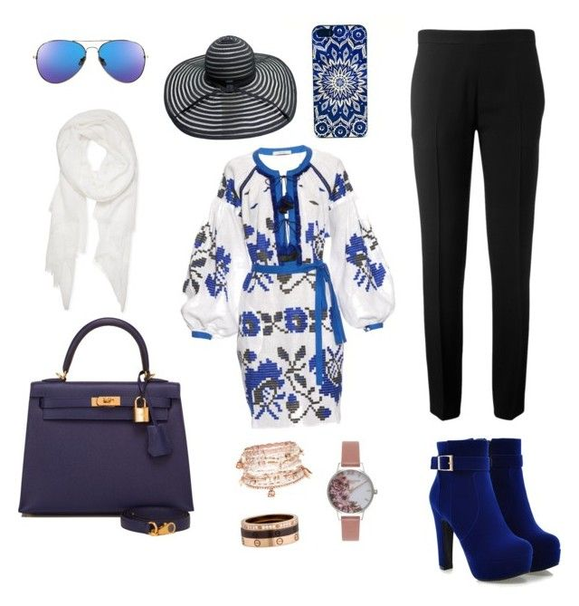 """""""What you need when you become a tourist"""" by ana-rizki on Polyvore featuring Vita Kin, Chloé, Hermès, Calvin Klein, Cartier, Accessorize and Olivia Burton"""