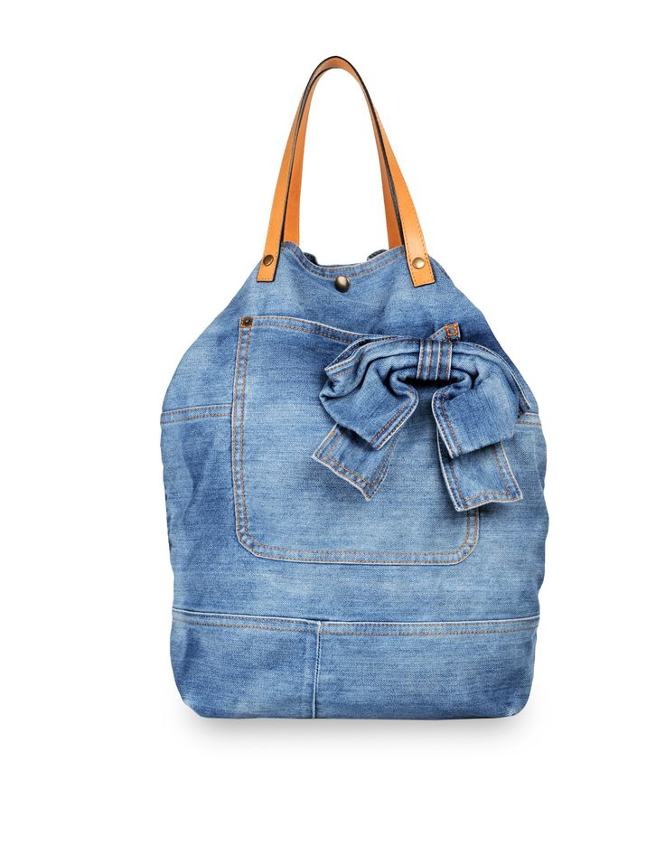 denim bag I want make this!! :)