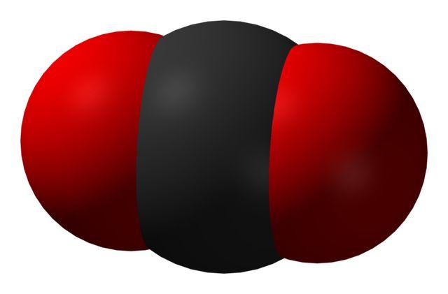 Is Carbon Dioxide Poisonous?: Each carbon dioxide molecule consists of one carbon atom bonded to two oxygen atoms.