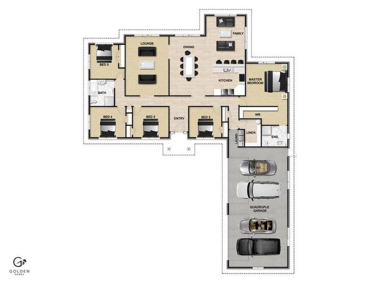 Voyager Floorplan #GoldenHomes
