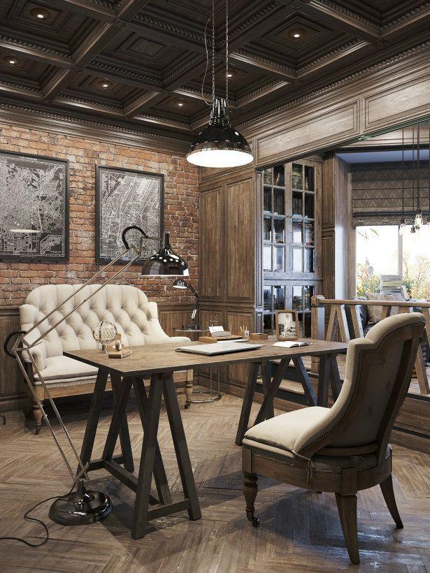 Desain Interior Rumah Gaya Industrial