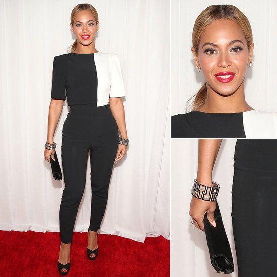 Beyonce | Grammys 2013 Red Carpet Dress