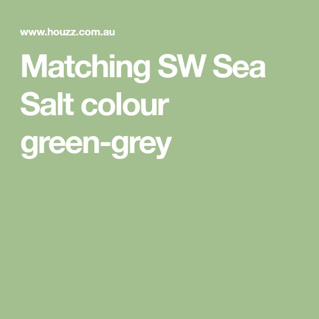 Feel A Brand New Kitchen With These Popular Paint Colors: Best 25+ Sw Sea Salt Ideas On Pinterest