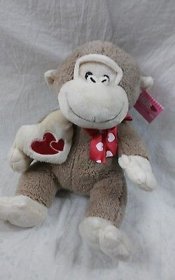 598efc217f0 Dan-Dee-Collector-039-s-Choice-Monkey-Plush-15-034-Heart-Hugging-Hands