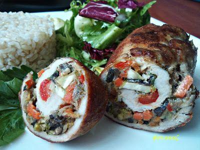Ewa w kuchni: Roladki z warzywami