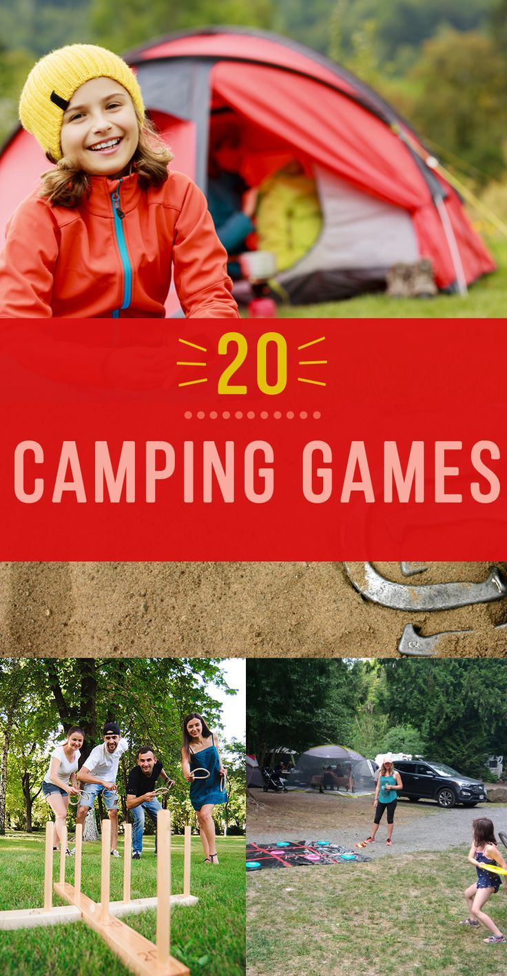 Seriously fun Camping Games for your next campout! Our list covers games for both Adults and Kids.