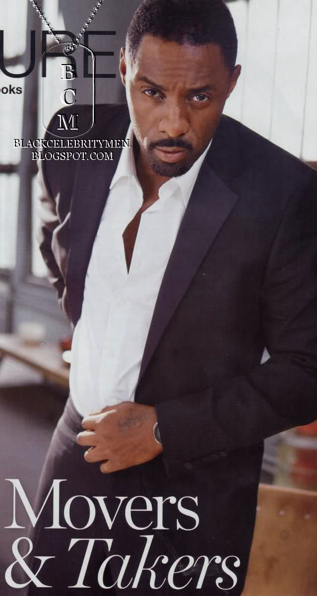 Idris Elba w/ his fine a$$!