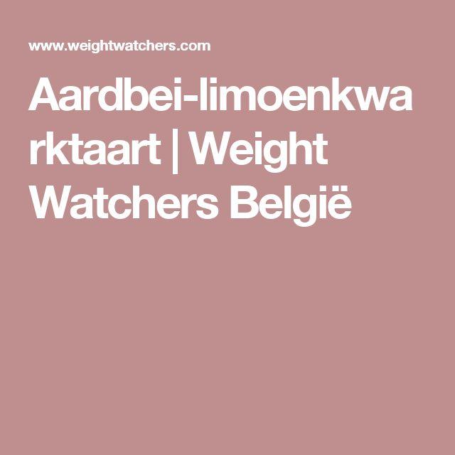 Aardbei-limoenkwarktaart | Weight Watchers België