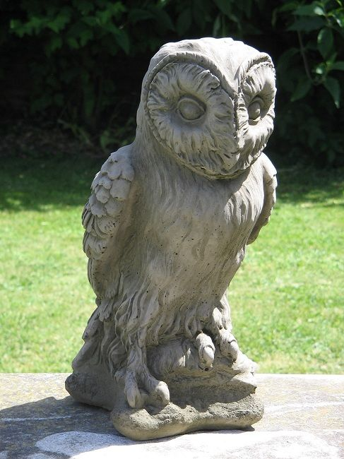 Large Owl Garden Statue