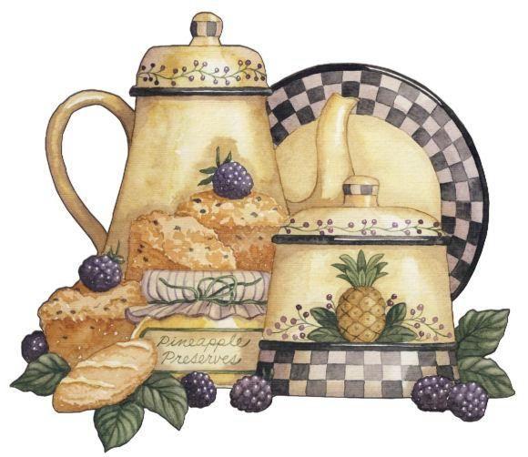 Kitchen Art 88: Vintage Kitchen And Homs - Art