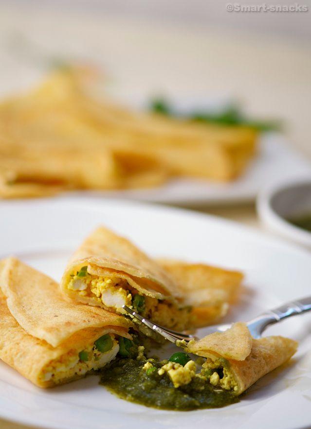 Healthy gluten free Yellow Lentil Pancakes/ Good Thanksgiving Platter