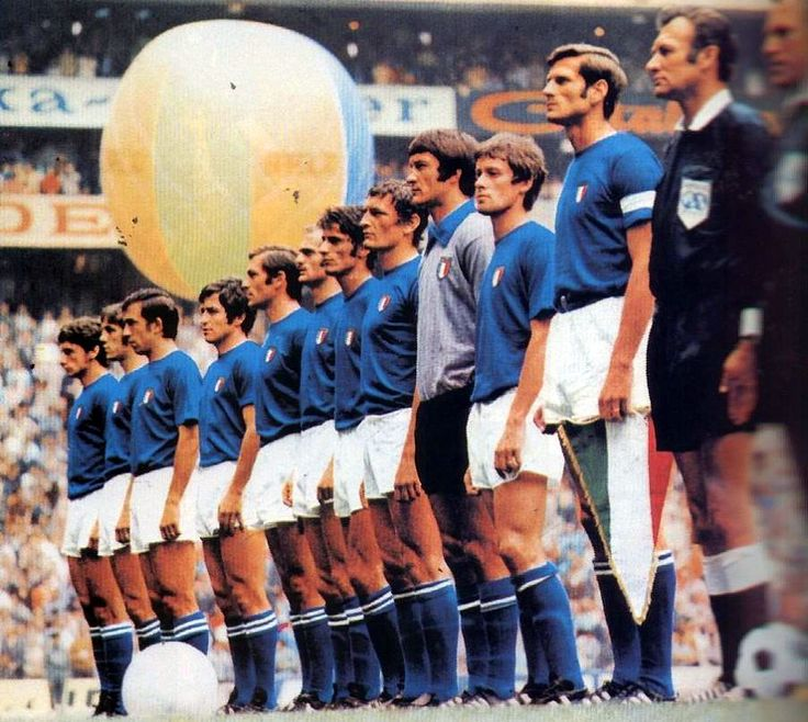ITALY  WORLD CUP MEXICO 1970