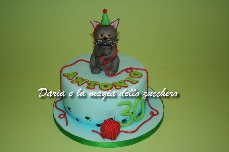 #Torta gattino #Cat cake