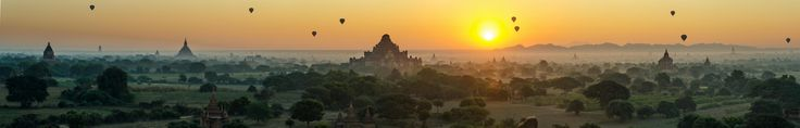 "https://flic.kr/p/FfjkAf | Magic Bagan | Hi my friends, I'm back from traveling :)  We arrived Bagan with the nightbus from Yangon. We slept not very well, so we liked to go directly to the hotel. But the taxidriver said ""For a little more money, i drive you to the Pagoda for looking the sunrise..."" As we stood there, the fatigue was blown away (: Many thanks to the taxidriver who drove us to this magical place!!"