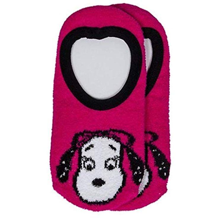 Peanuts Kinder Füßlinge Socken SNOOPY BELLE Größe 23/26 Mädchen pink weich …