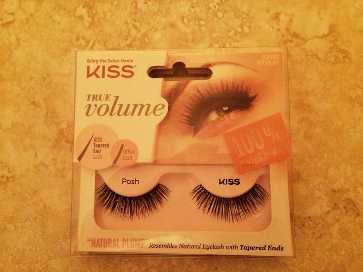 KISS True Volume Lash @influenster #KISSlashes