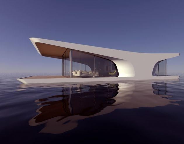 The Boathouse by Dymitr Malcew takes advantage of the view with all its glass.