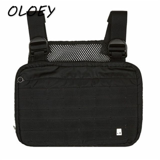 Unisex Tactical Waist Packs Chest Bag Shoulder Pocket Adjustable Waistpack Purse