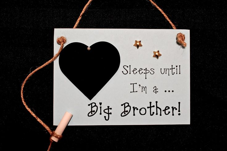 Wedding Shower Gift For Brother : gift, Sleeps Until..Im a Big Brother!
