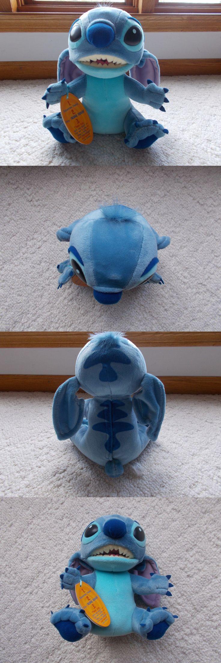 Lilo and Stitch 44035: Disney Lilo And Stitch Interactive Aloha Stitch Talking Plush Doll Hasbro New!! -> BUY IT NOW ONLY: $57.95 on eBay!