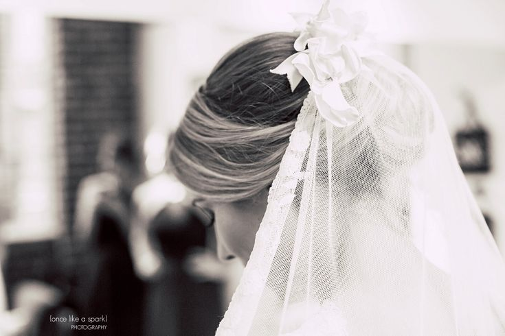 The Foundry at Puritan Mill Wedding :: Meagan + Brandon :: with Tyler » (Once Like a Spark) Photography | Wedding Veil | Atlanta Wedding